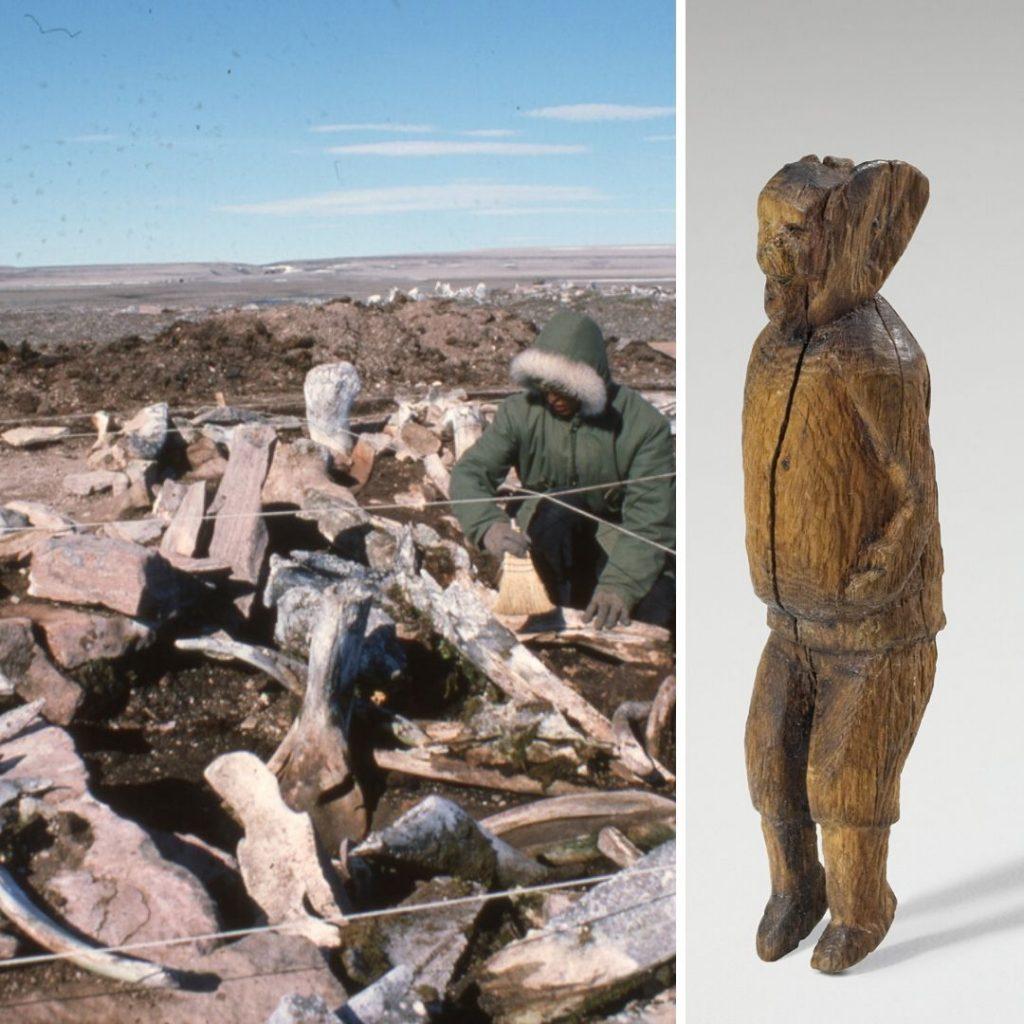 Daniel Weetaluktuk et figurine
