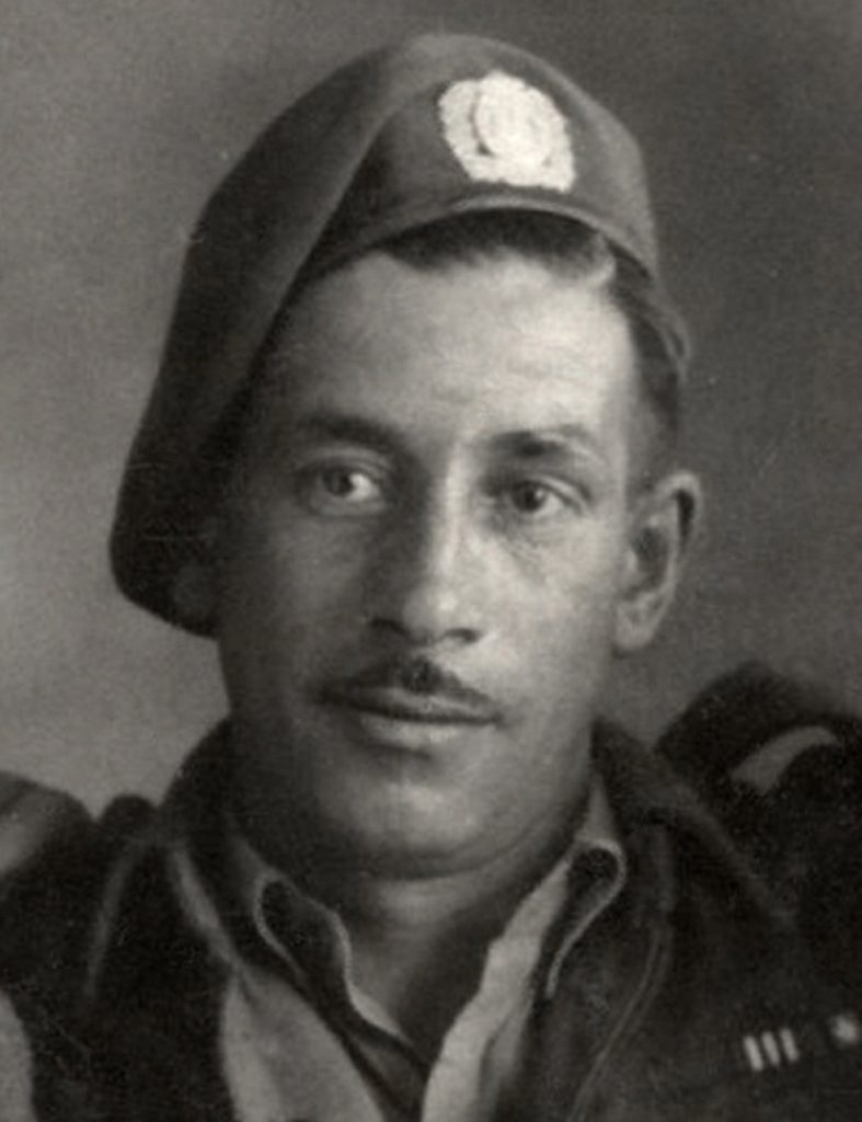Photo d'un soldat de la Seconde guerre mondiale