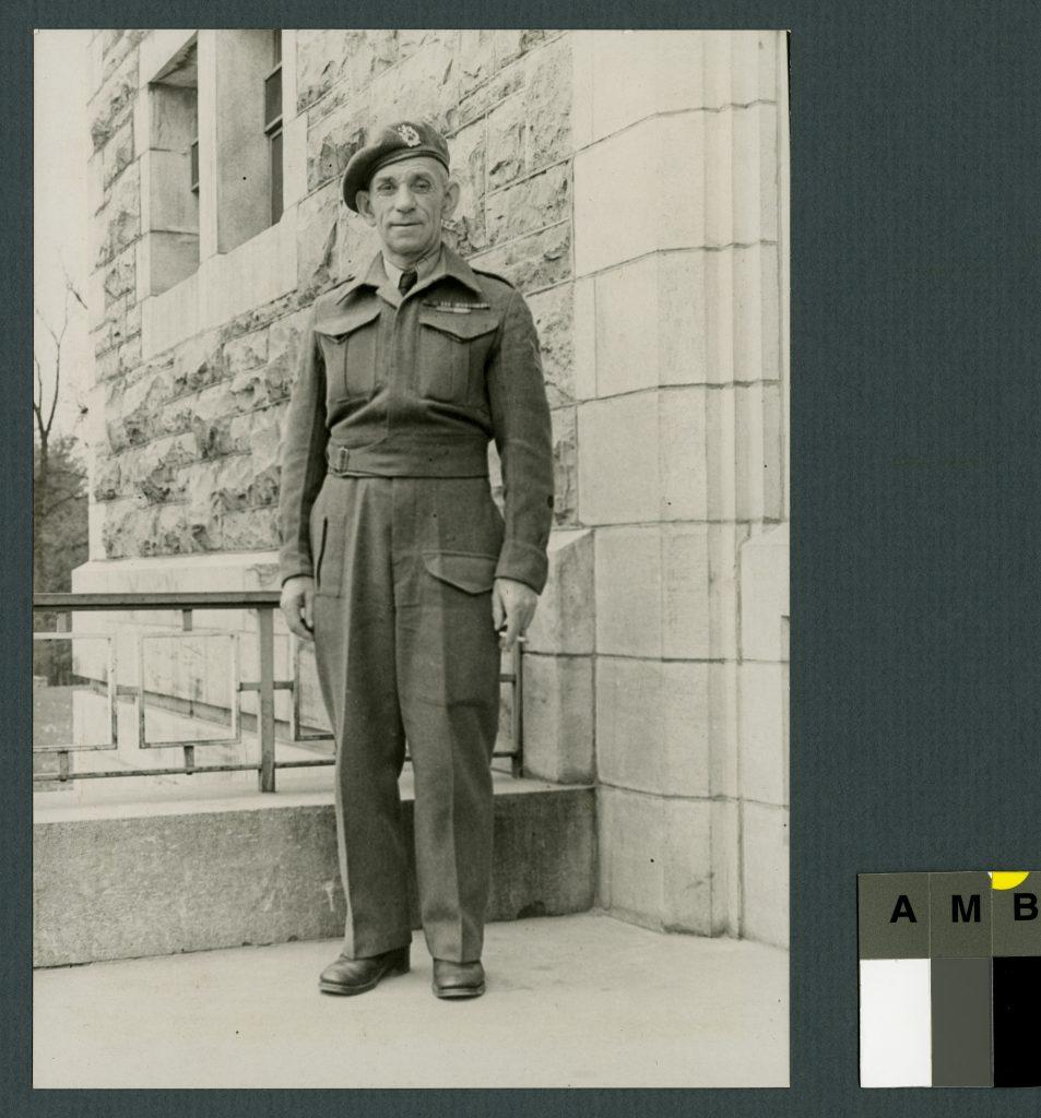 Photo d'un soldat de la Première guerre mondiale
