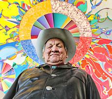 Alex Janvier, artiste et L'Étoile du matin