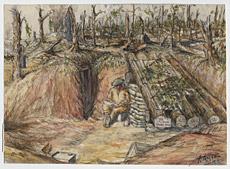 La demeure d'un artiste à Bottom Wood