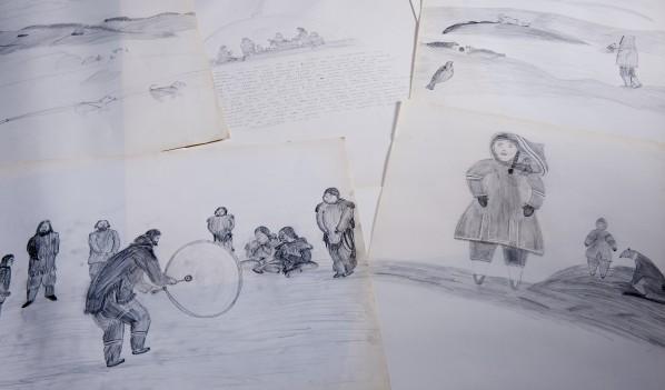 Dessins d'inuits