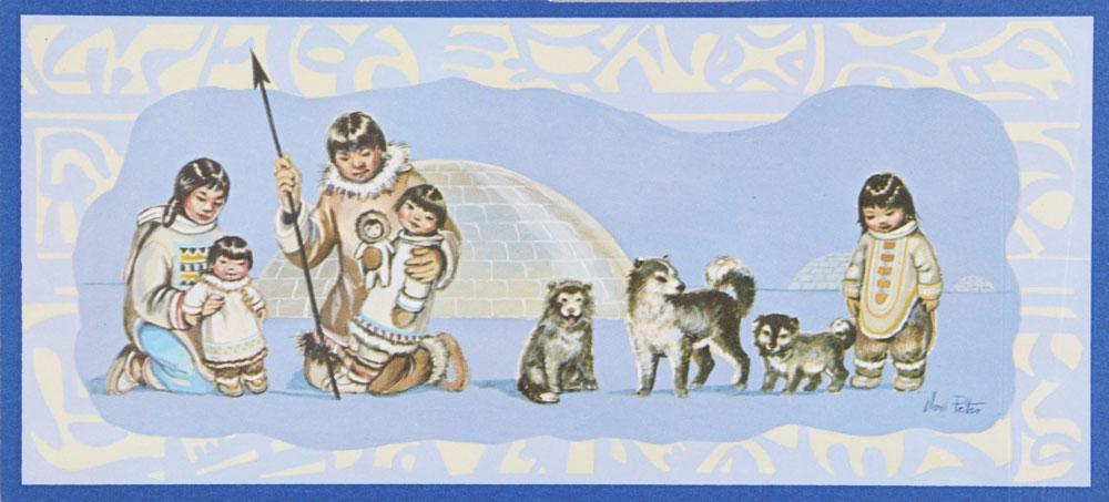 Carte de Noël de Terre-Neuve-et-Labrador, Musée canadien de l'histoire, 2013.50.88