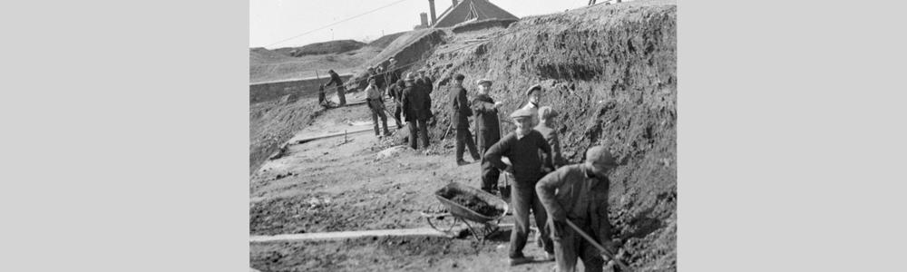Travailleurs dans les camps de secours, Halifax