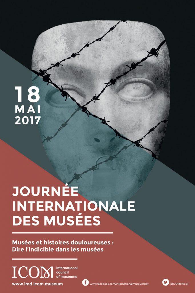 Affiche de la Journée internationale des musées 2017, reproduite avec l'autorisation du Conseil international des musées