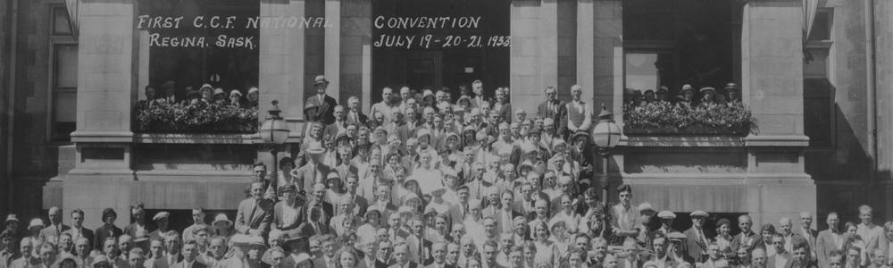 Premier congrès national de la Fédération du commonwealth coopératif