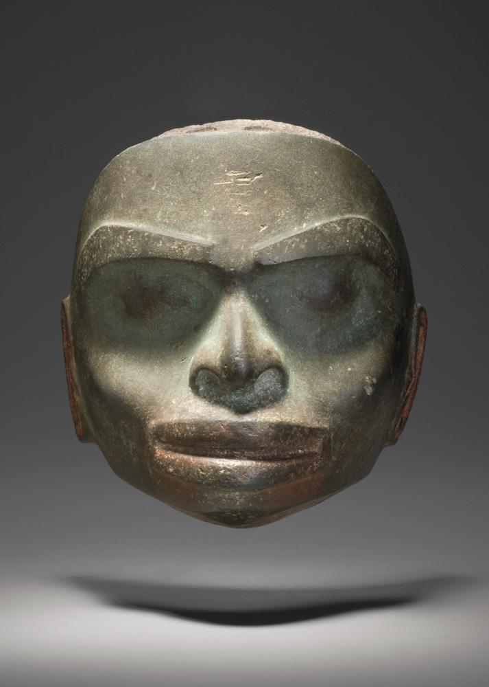 Masque en pierre tsimshian