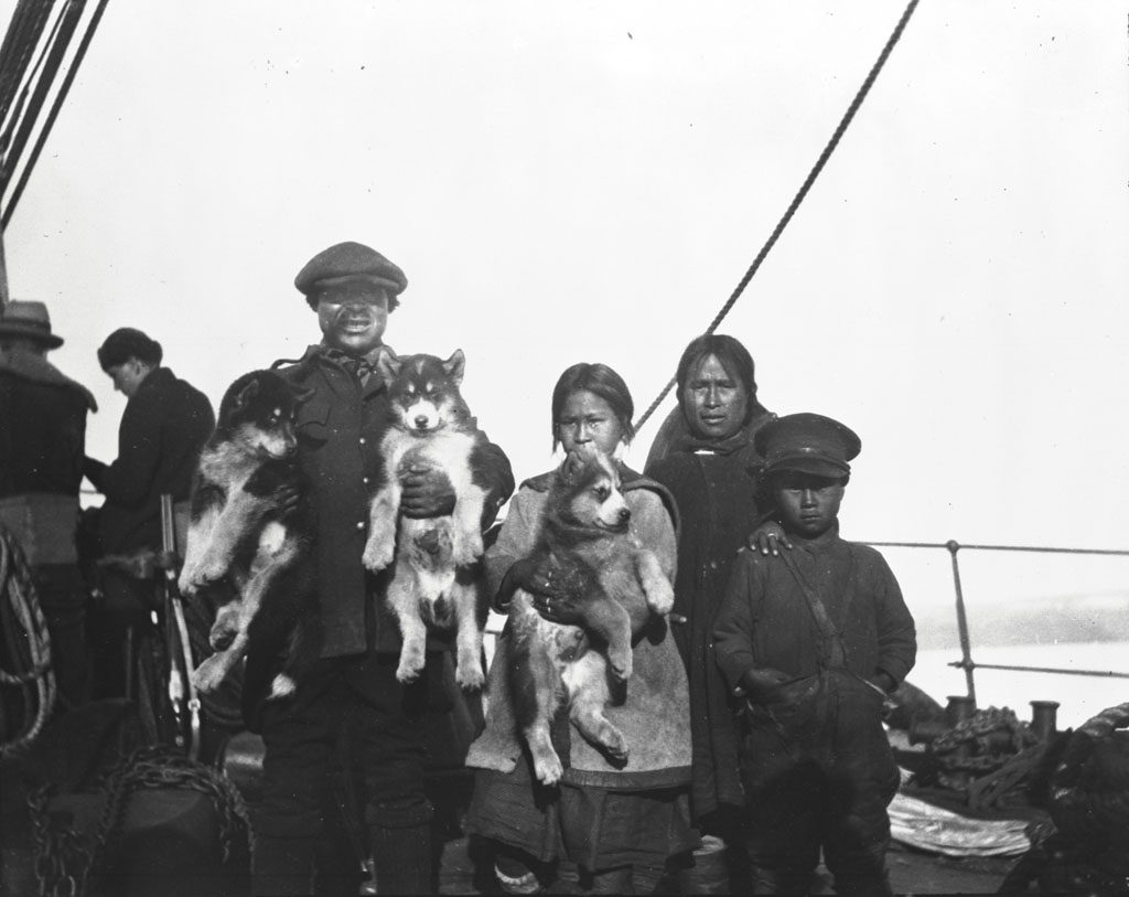 À bord du C.G.S Arctic