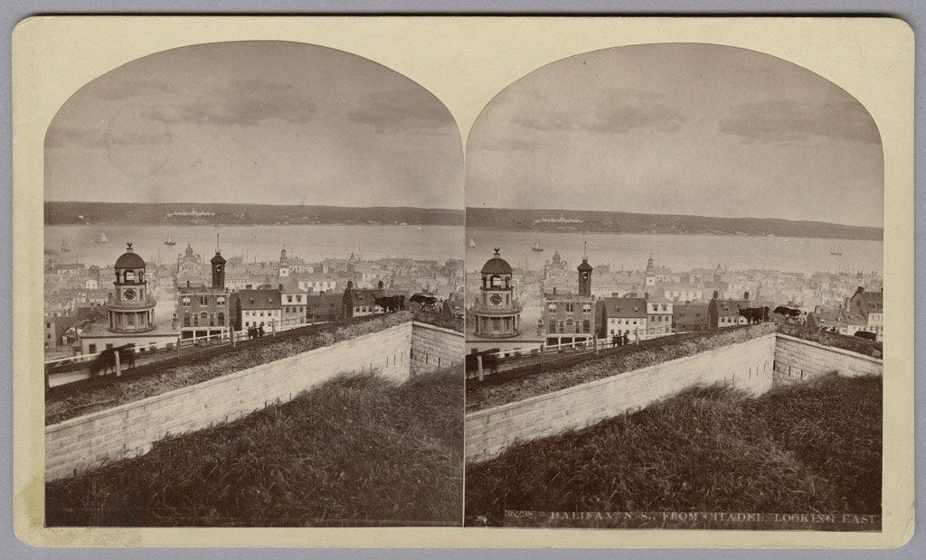 Halifax N.É. vue de la citadelle