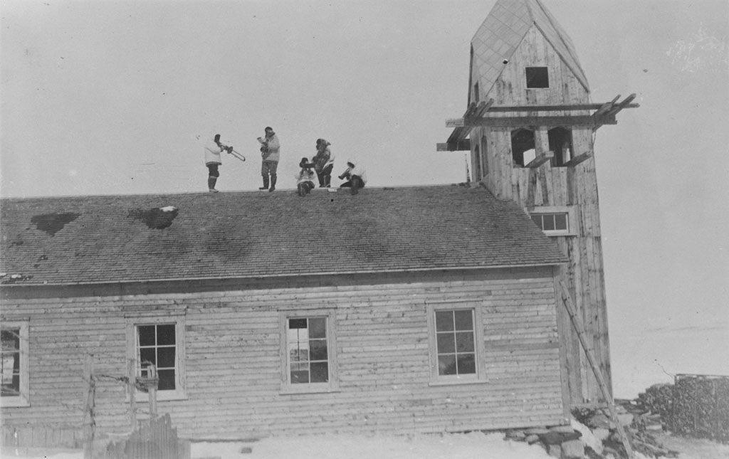 Concert sur le toit