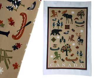 Canadian Heritage Tea Towel:: Serviette