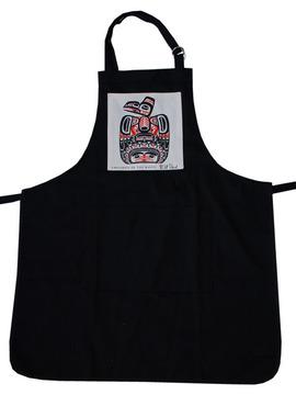 Bill Reid Children of the Raven BBQ Apron:: Tablier BBQ avec l'