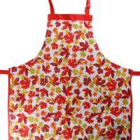 Autumn Maple Leaf BBQ Apron:: Tablier pour le BBQ avec des feuilles d'