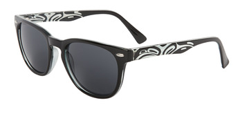 Men's Sunglasses, featuring a Eagle design by Corrine Hunt:: Lunette de soleil Kennedy avec un aigle, par l'artiste Corrine Hunt