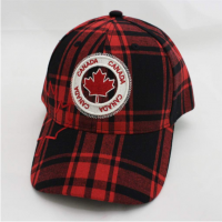 Plaid Canada Cap