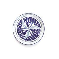 Porcelain Art Plate - Hummingbird by Maynard Johnny Jr