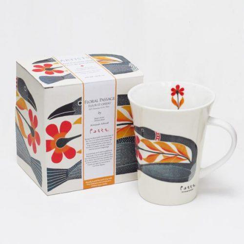 Kenojuak Ashevak Mug - Floral Passage