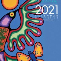 2021 Wall Calendar with Jim Oskineegish Artworks
