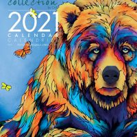 2021 Wall Calendar with Micqaela Jones Artworks