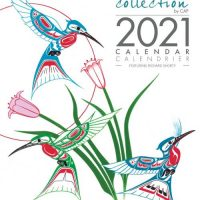 2021 Wall Calendar with Richard Shorty Artworks