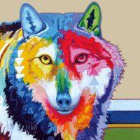 John Balloue's Big Wolf Trivet