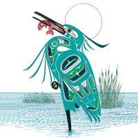 Richard Shorty's Green Heron Trivet