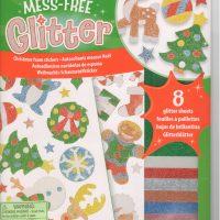 MESS-FREE GLITTER-CHRISTMAS FOAM STICKERS