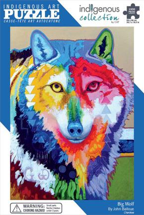John Balloue Puzzle - Big Wolf or Wa Ya Grande
