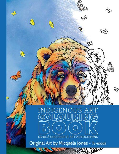 Micqaela Jones Colouring Book