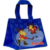 Hockey Moose Lunch Box