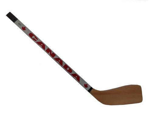 Mini wooden hockey stick