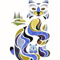 Impression numérique - Lori le lynx