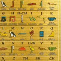 Hieroglyph poster