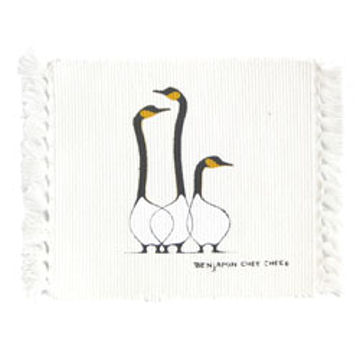 Benjamin Chee Chee Coasters - Friends:: Sous-verres Benjamin Chee Chee - Friends