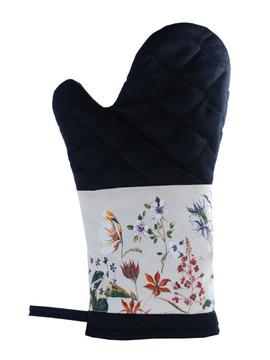 Canadian Wildflower Oven Mitt:: Mitaine pour le four des fleurs canadiennes