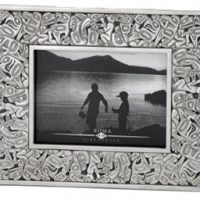 Frame Native design pewter 4x6:: Cadre au design Premi
