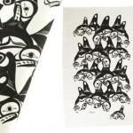 Bill Helin Many Whale Tea Towel:: Serviette
