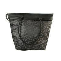 Corinne Hunt 3 Eagles Tote Bag made in leather:: Grand sac en cuir avec l'
