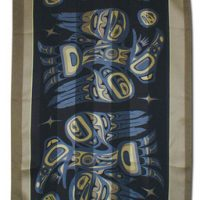 Bill Helin Raven Silk Scarf::
