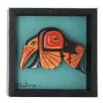 Hummingbird Frame by Artie George:: Le colibri dans un cadre par Artie George