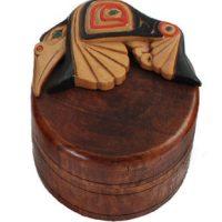Hummingbird Box by Artie George:: Le colibri sur une bo