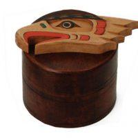 Eagle Box by Artie George:: L'aigle sur une bo