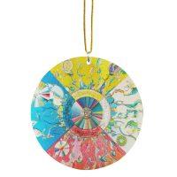 Alex Janvier Morning Star Metallic Ornament