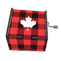 Lumberjack Canada Musical Box
