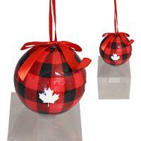 Lumberjack Christmas Paper Ornament