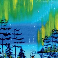 2021 Weekly Planner - Northern Lights by William Monague
