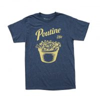Vintage Canadian and Quebec Poutine T-shirt