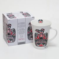 Bill Reid Porcelain Mug - Children of the Raven - with gift box