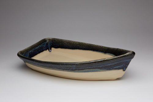Charcuterie Boat Baker Bowl - granite
