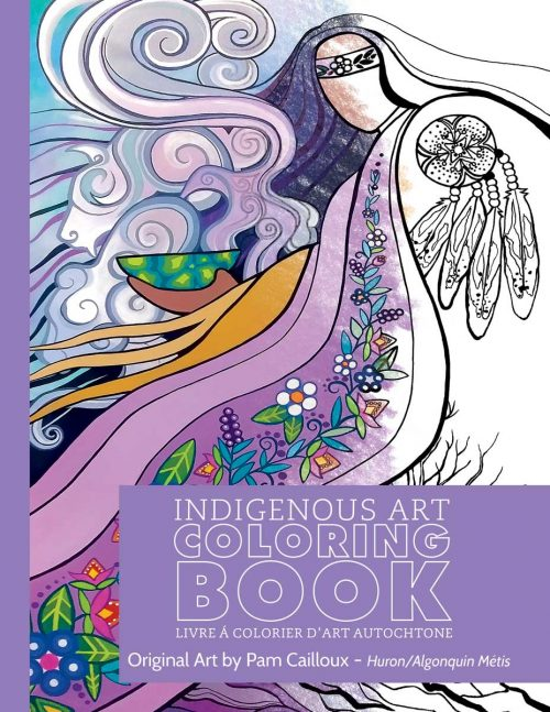 Pam Cailloux Colouring Book